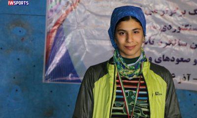 محیا دارابیان 1 400x240 شاهکار محیا دارابیان در سنگ نوردی آسیا | سومین مدال برای ایران به رنگ طلای سرعت
