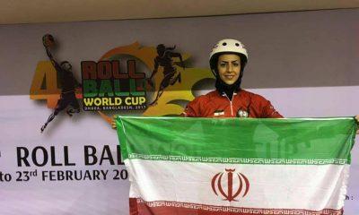 نجمه عبدالله پور 400x240 نجمه عبداللهپور: رول بال بانوان ایران مدعی کسب عنوان قهرمانی جهان است