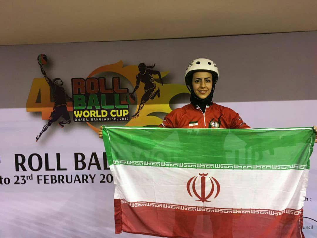 نجمه عبداللهپور: رول بال بانوان ایران مدعی کسب عنوان قهرمانی جهان است