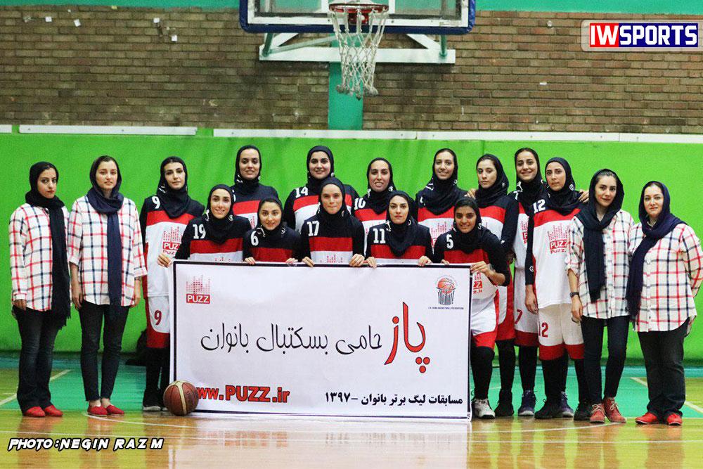 پاز تهران 67 صدرای شیراز 65 / صدرا روی نوار ناکامی