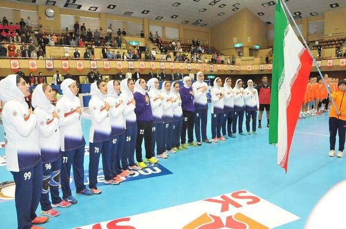 ایران 24 استرالیا 30 / پایان راه هندبال ایران با رتبه ششمی آسیا