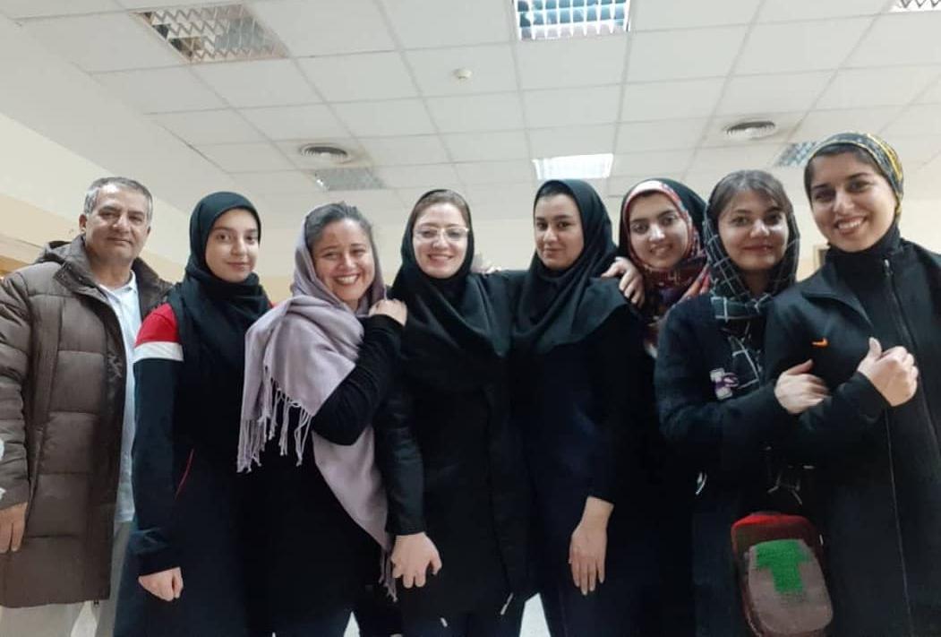 ترکیب تیم تیراندازی هیئت خراسان رضوی در لیگ برتر تیراندازی بانوان