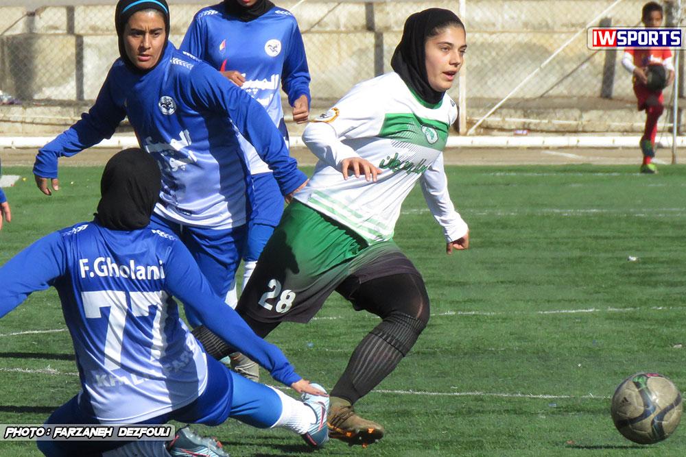 نتایج هفته سوم لیگ برتر فوتبال بانوان ؛ شکست غیر منتظره سپاهان در خانه