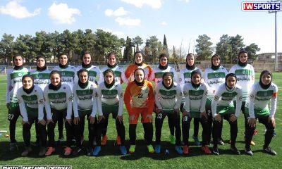 دیدار تیم های راهیاب ملل کردستان و خلیج فارس شیراز در هفته اول لیگ برتر فوتبال بانوان 2 400x240 خداحافظی اینستاگرامی راهیاب ملل مریوان از لیگ فوتبال زنان