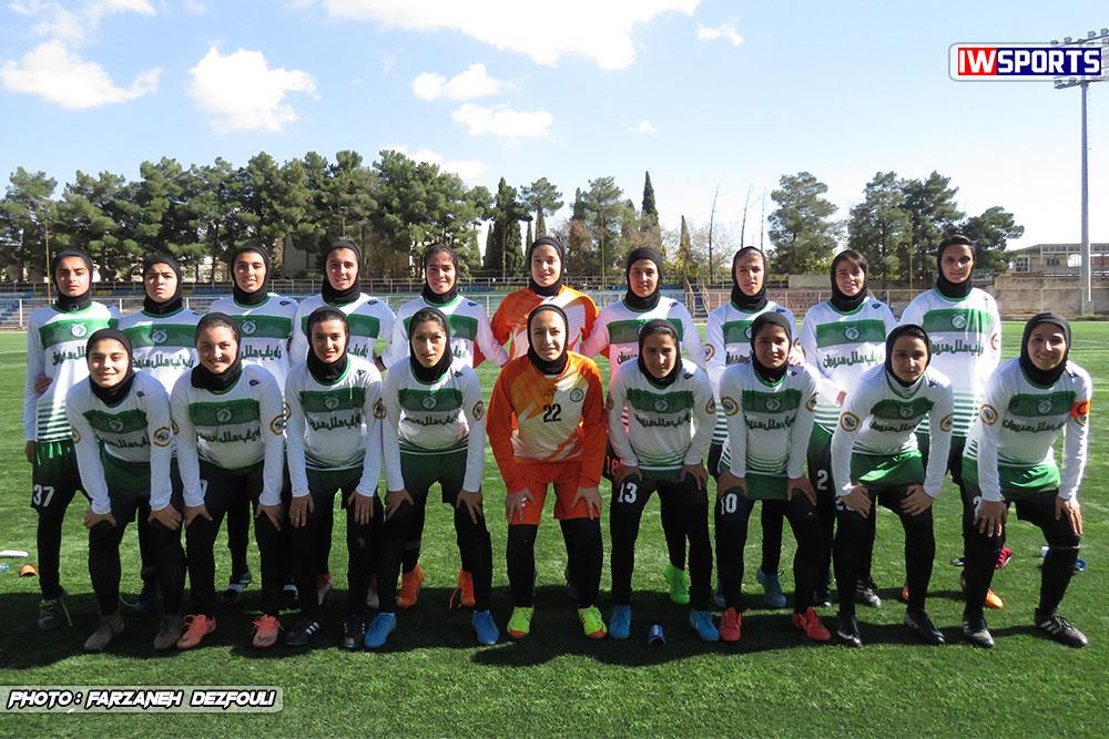 خداحافظی اینستاگرامی راهیاب ملل مریوان از لیگ فوتبال زنان