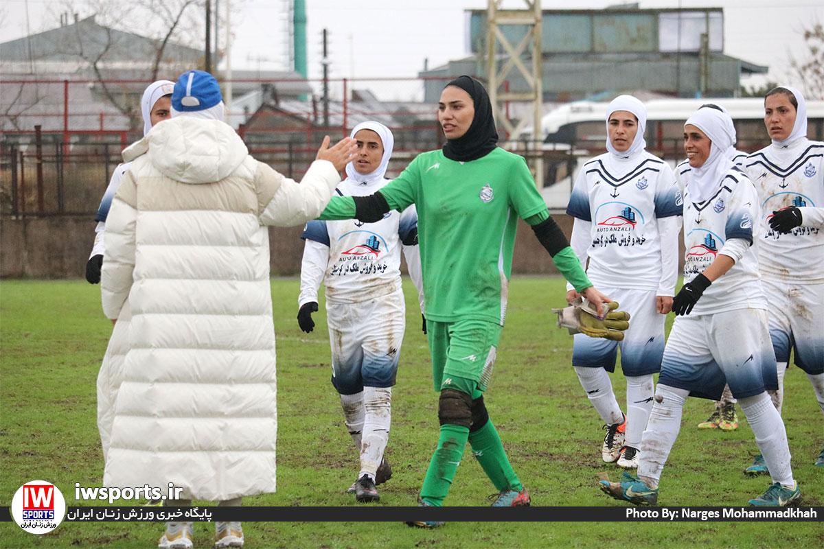 هفته پنجم لیگ برتر فوتبال بانوان؛ شکست سنگین راه یاب ملل در انزلی و پیروزی سیرجان بر ذوب آهن