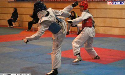 مسابقات تکواندوی آزاد بزرگسالان کشور آذر 97 23 400x240 قرعه کشی لیگ تکواندوی بانوان به تعویق افتاد