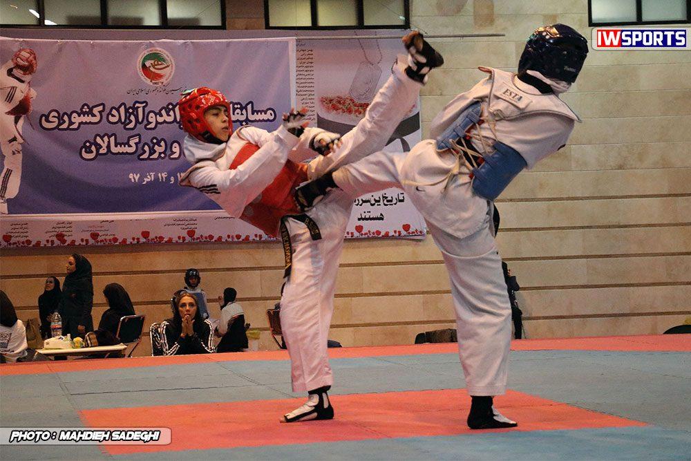 مسابقات تکواندوی آزاد کشور آذر 97 1 1000x667 گزارش تصویری مسابقات تکواندوی آزاد بانوان کشور / بخش اول