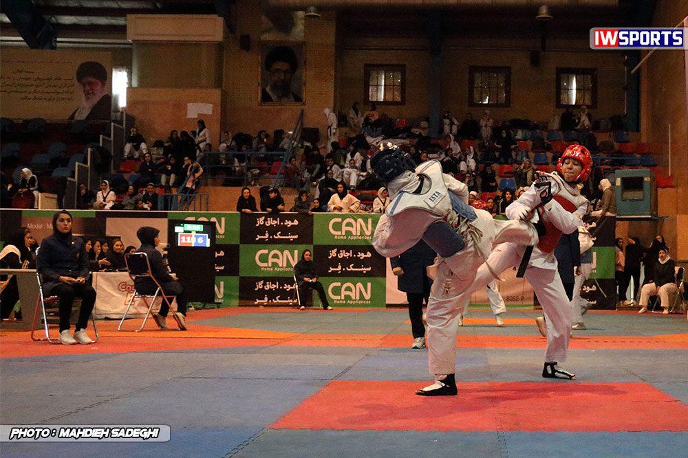مسابقات تکواندوی آزاد کشور آذر 97 11 1000x667 گزارش تصویری مسابقات تکواندوی آزاد بانوان کشور / بخش اول