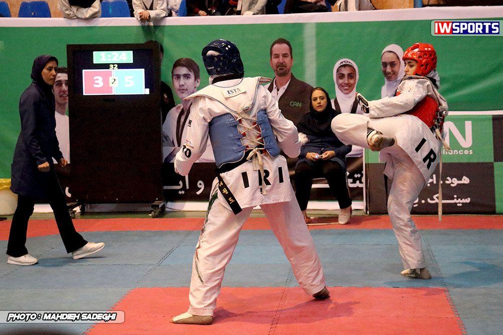 مسابقات تکواندوی آزاد کشور آذر 97 16 1000x667 گزارش تصویری مسابقات تکواندوی آزاد بانوان کشور / بخش اول