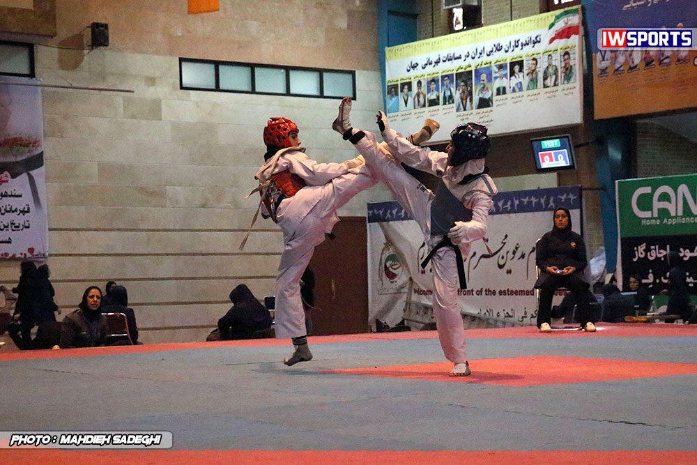 مسابقات تکواندوی آزاد کشور آذر 97 19 1000x667 گزارش تصویری مسابقات تکواندوی آزاد بانوان کشور / بخش اول