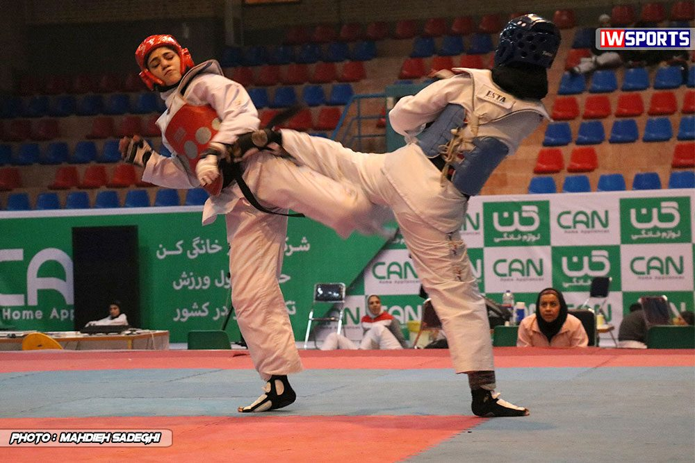 مسابقات تکواندوی آزاد کشور آذر 97 25 1000x667 گزارش تصویری مسابقات تکواندوی آزاد بانوان کشور / بخش اول