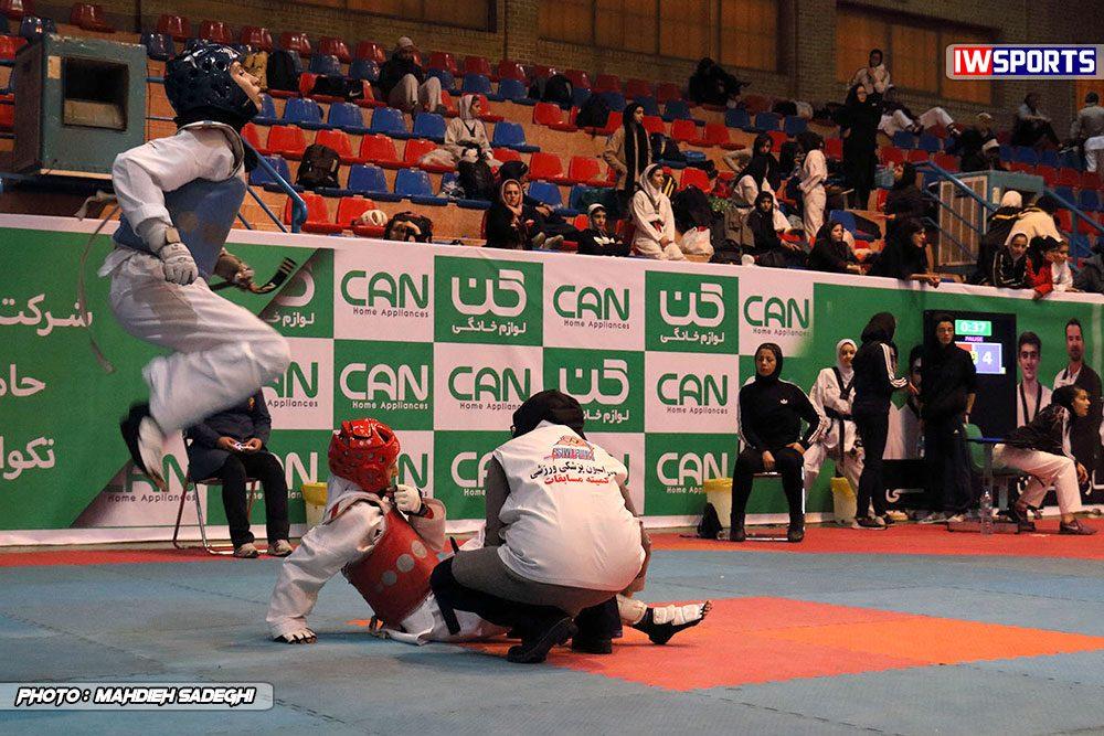 مسابقات تکواندوی آزاد کشور آذر 97 30 1000x667 گزارش تصویری مسابقات تکواندوی آزاد بانوان کشور / بخش اول