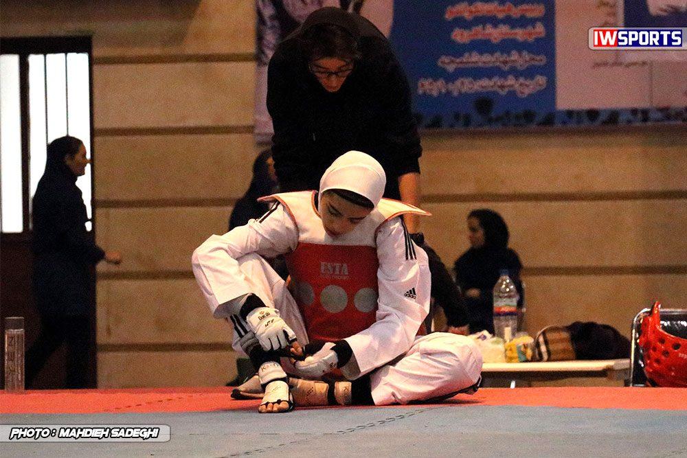 مسابقات تکواندوی آزاد کشور آذر 97 34 1000x667 گزارش تصویری مسابقات تکواندوی آزاد بانوان کشور / بخش اول