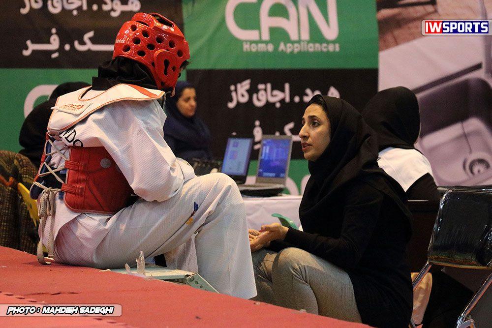 مسابقات تکواندوی آزاد کشور آذر 97 6 1000x667 گزارش تصویری مسابقات تکواندوی آزاد بانوان کشور / بخش اول