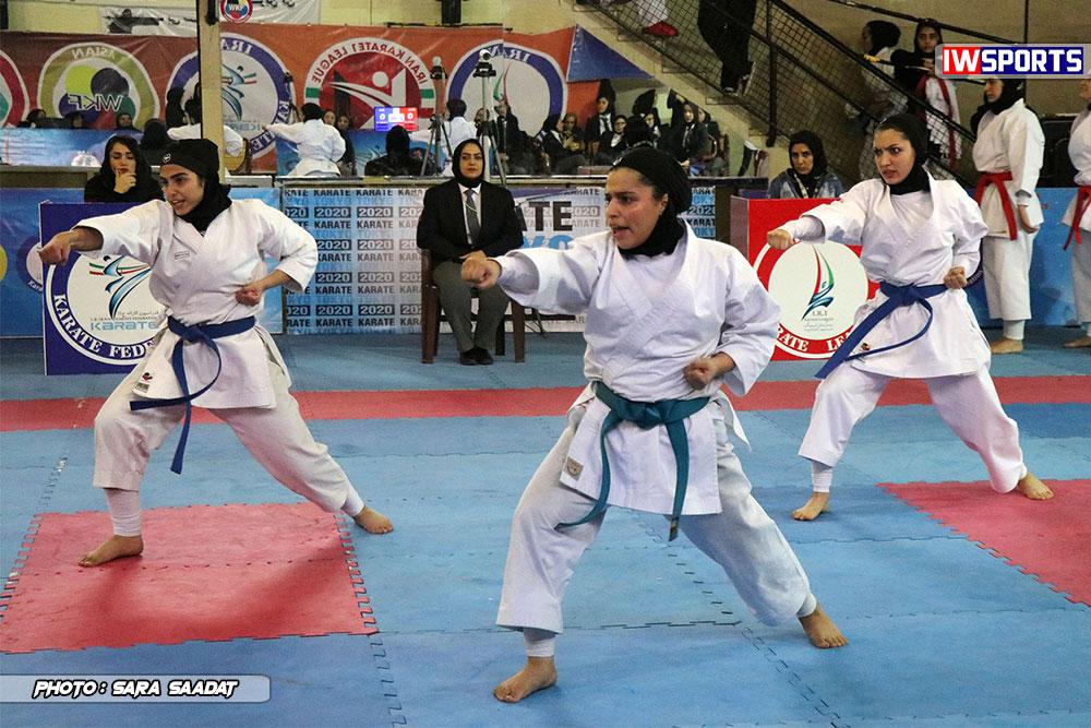 هفته اول سوپر لیگ کاراته بانوان ؛ مسابقات کاتا 12 هفته سوم سوپر لیگ کاراته بانوان / جوانه صفادشت و مرداس قم با قدرت ادامه می دهند