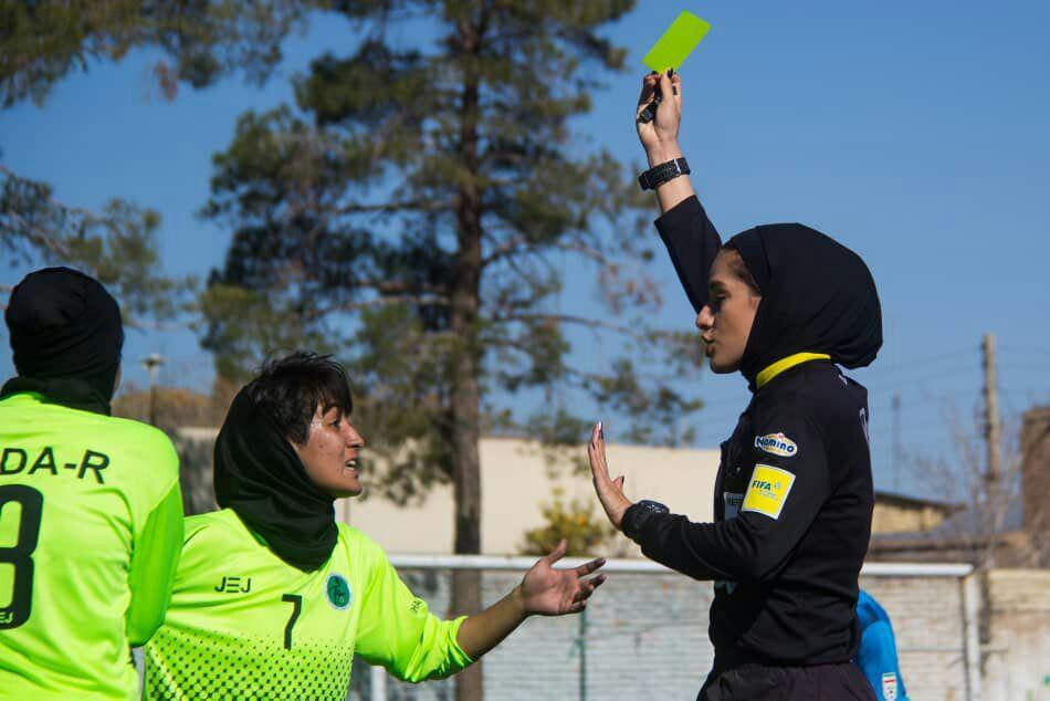 اسامی داوران هفته پایانی لیگ برتر فوتبال بانوان