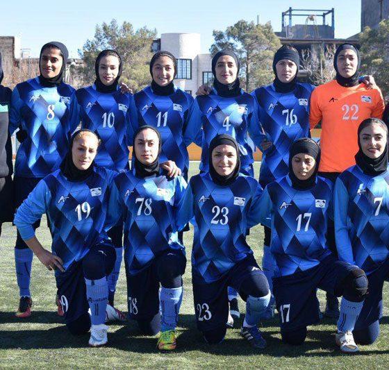 تیم فوتبال بانوان همیاری آذربایجان غربی 560x533 اظهارات تکان دهنده پزشکیان: ۹۳ میلیون برای خرید البسه تیم همیاری پول برداشت کردهاند