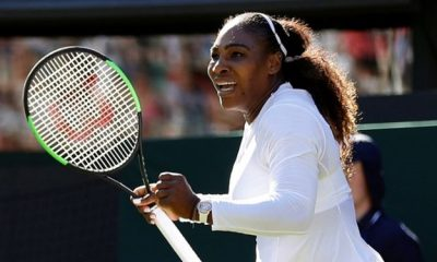 سرناویلیامز 1 400x240 تنیس آزاد استرالیا: سرنا ویلیامز تنیسور شماره یک جهان را حذف کرد