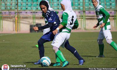 هفته هشتم لیگ برتر فوتبال بانوان ذوب آهن اصفهان ملوان انزلی 11 400x240 لیگ برتر فوتبال بانوان 98