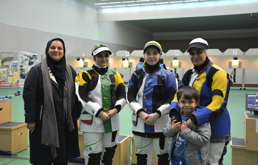 آرمینا صادقیان در رده سیزدهم رنکینگ فدراسیون جهانی تیراندازی