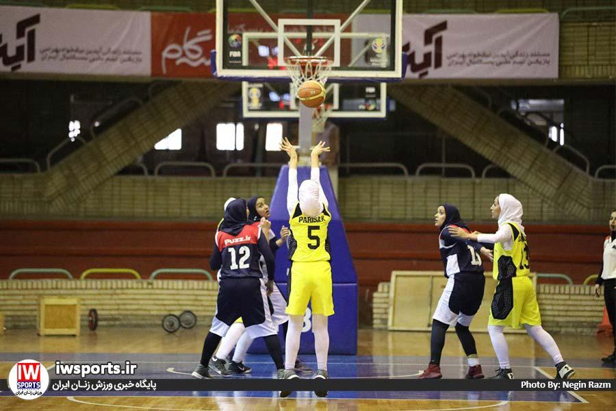 پلی آف لیگ برتر بسکتبال بانوان گاز تهران پاز 14 لیگ برتر بسکتبال بانوان ۹۸