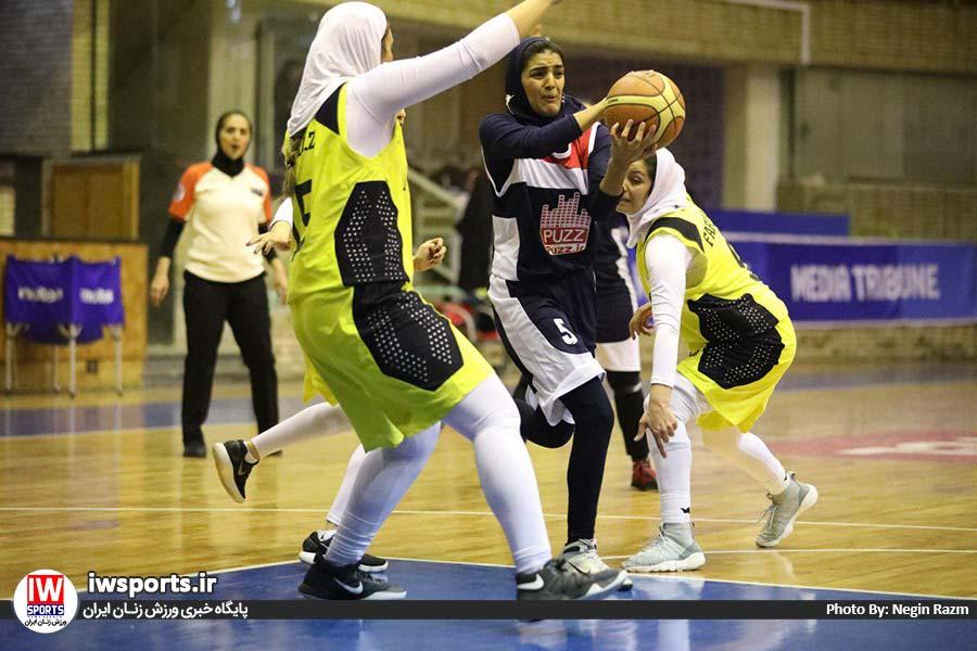هفته سوم لیگ برتر بسکتبال | پیروزی ارزشمند گروه بهمن و ادامه کامیابی های نامی نو و هرمزگان