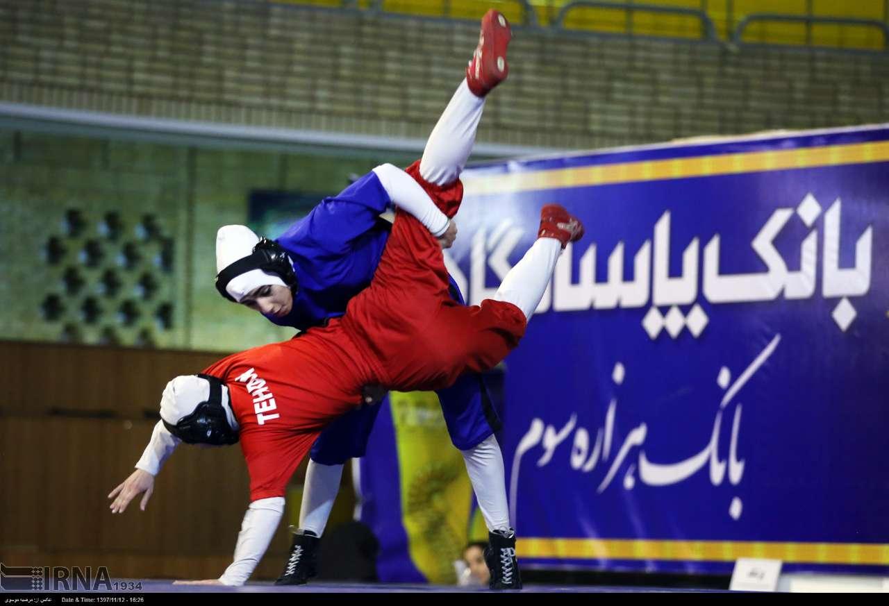 گزارش تصویری دومین دوره مسابقات کشتی بانوان کشور در تهران