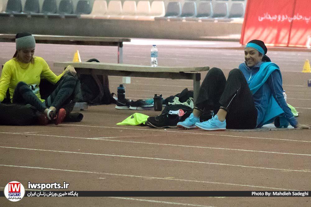 دو و میدانی بانوان داخل سالن کشور بهمن 97 سپیده توکلی 1 1000x667 گزارش تصویری مسابقات دو و میدانی داخل سالن بانوان کشور
