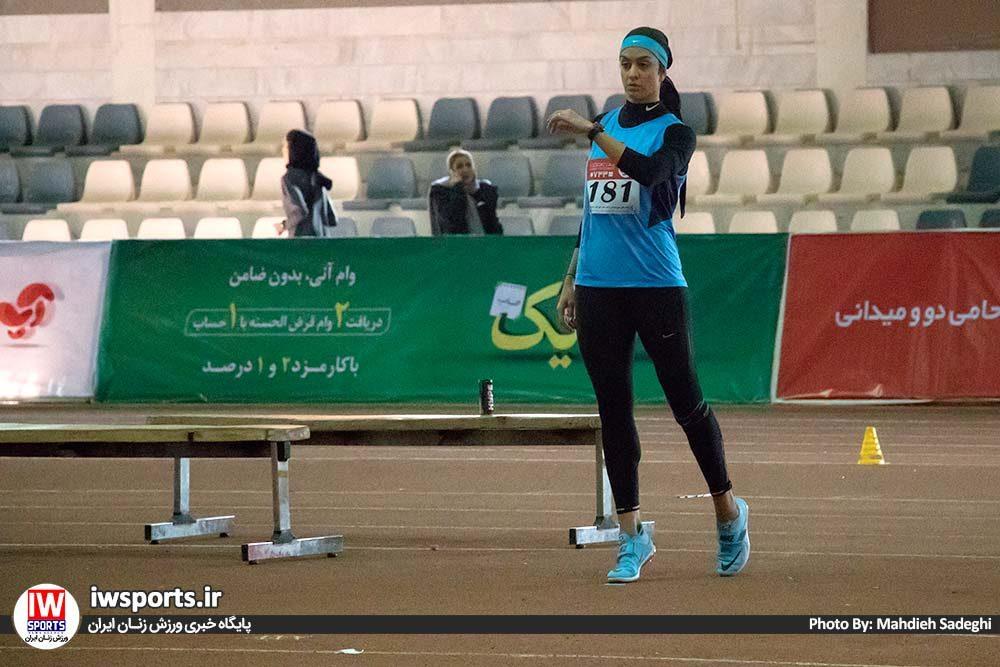 دو و میدانی بانوان داخل سالن کشور بهمن 97 سپیده توکلی 1000x667 گزارش تصویری مسابقات دو و میدانی داخل سالن بانوان کشور