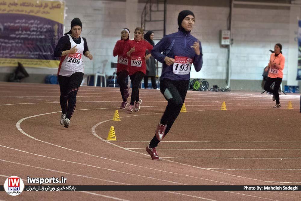 دو و میدانی بانوان داخل سالن کشور بهمن 97 11 1000x667 گزارش تصویری مسابقات دو و میدانی داخل سالن بانوان کشور