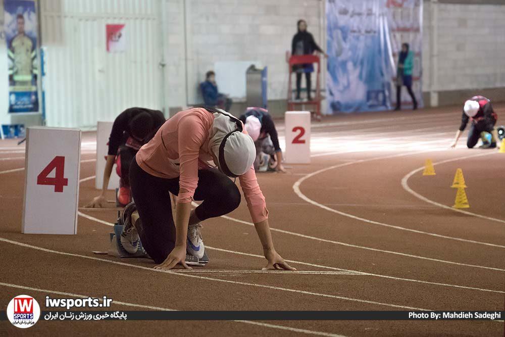 دو و میدانی بانوان داخل سالن کشور بهمن 97 5 1000x667 گزارش تصویری مسابقات دو و میدانی داخل سالن بانوان کشور