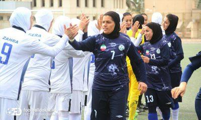 شهرداری بم ذوب آهن 400x240 گزارش تصویری دیدار تیم های شهرداری بم و ذوب آهن در لیگ برتر فوتبال بانوان