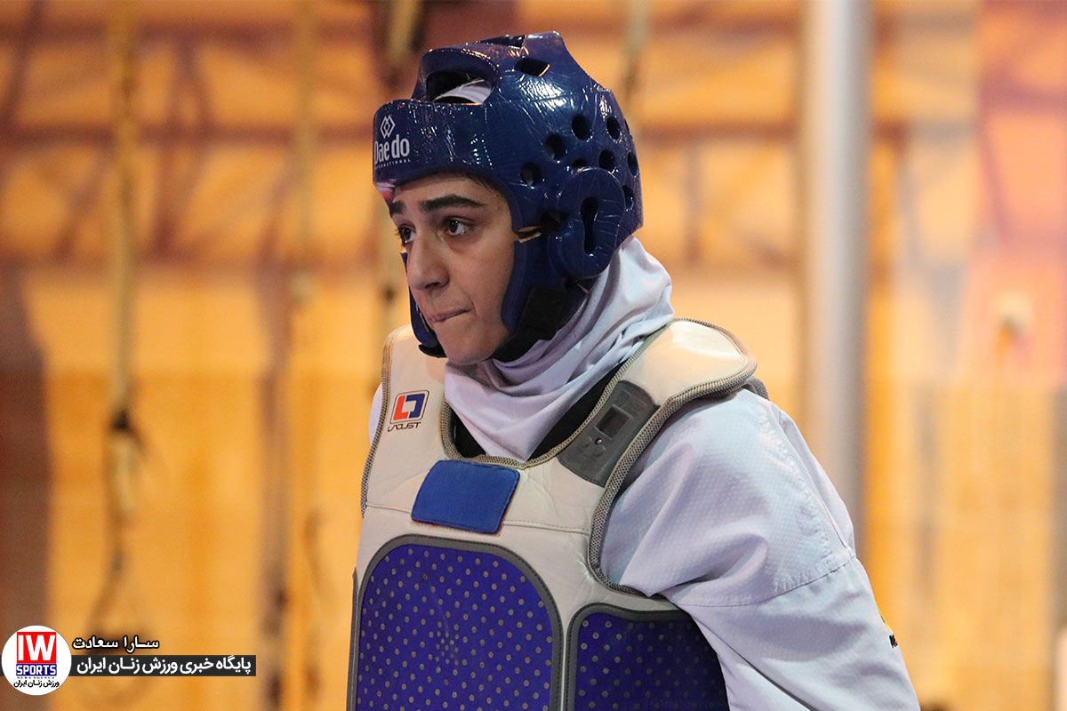 ملیکا میرحسینی تکواندو ویدئو | نظرات ملیکا میرحسینی پس از اولین مسابقه برای فتح صدر البرز در لیگ تکواندو
