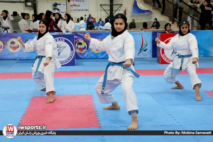 گزارش تصویری هفته سوم سوپر لیگ کاراته بانوان