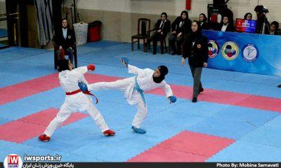 هفته سوم سوپر لیگ کاراته بانوان 8 400x240 انتخابی تیم ملی کاراته | آقایی، برزگر، یاوری، شیروانی و شاهرخی در اردوی ملی
