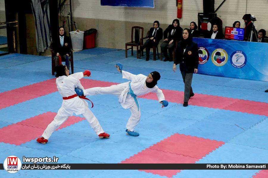 انتخابی تیم ملی کاراته | آقایی، برزگر، یاوری، شیروانی و شاهرخی در اردوی ملی