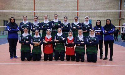 والیبال جام باشگاه های بانوان باریج اسانس اکسون 14 400x240 باریج اسانس قهرمان والیبال بانوان کشور شد