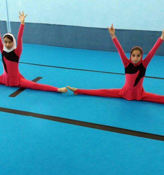 ژیمناستیک بانوان 560x600 مسابقات ژیمناستیک بانوان کشورهای اسلامی لغو می شود؟