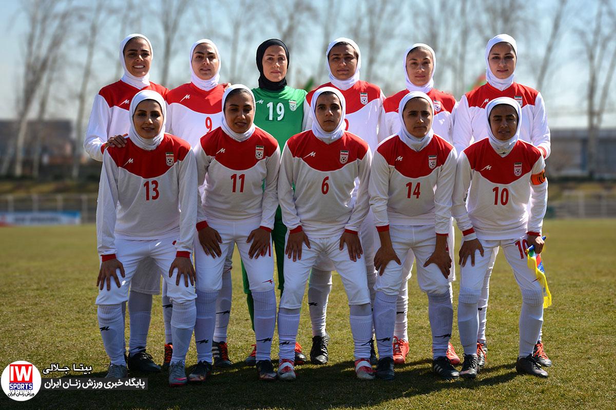 تیم ملی فوتبال زنان ایران دوباره از رنکینگ فیفا خارج شد