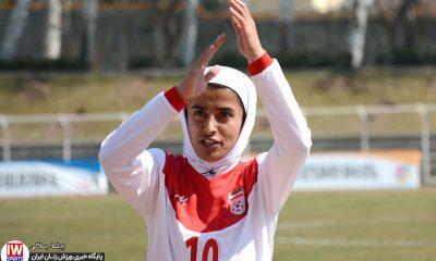 ایران 1 بلاروس 2 دیدار دوستانه تیم ملی فوتبال بانوان Iran women 1 Belarus women 2 18 400x240 سارا قمی: نمی دانستیم سمیرا فقط یک دستکش دروازه بانی دارد! |ملوان امسال حامی نداشت