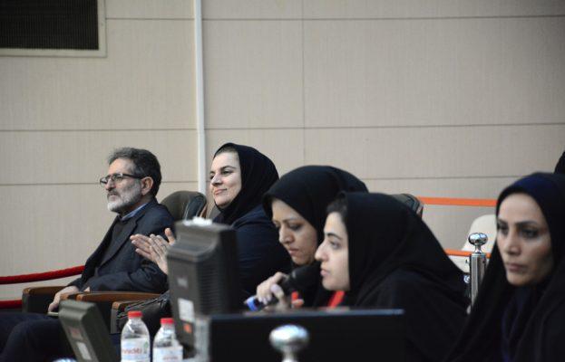 بدرالملوک کهرنگی نایب رئیس فدراسیون تیراندازی 623x400 هفته پایانی لیگ برتر تیراندازی بانوان به روایت تصویر