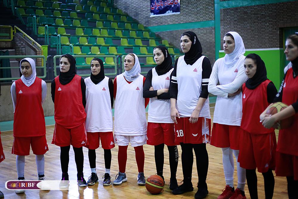 تمرین تیم ملی بسکتبال بانوان 1 تمرین تیم ملی بسکتبال بانوان به روایت تصویر