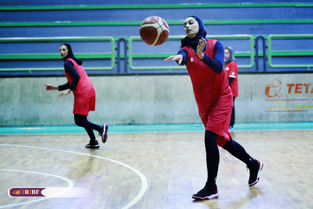 تمرین تیم ملی بسکتبال بانوان 11 تمرین تیم ملی بسکتبال بانوان به روایت تصویر