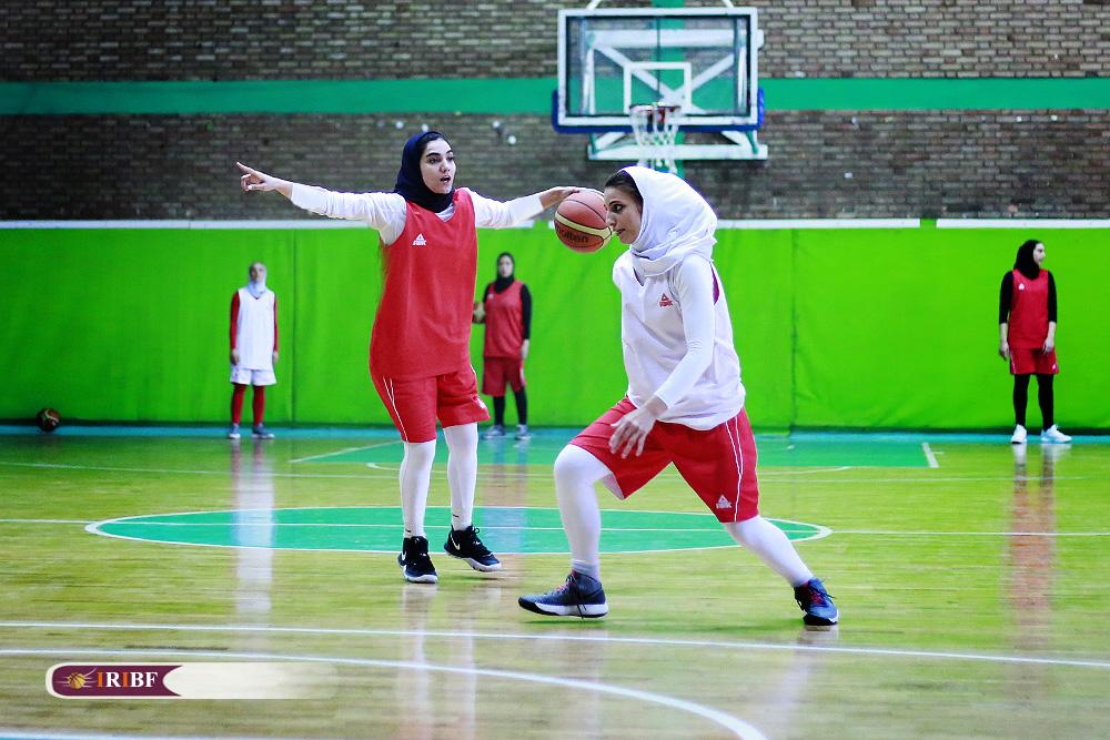 تمرین تیم ملی بسکتبال بانوان 12 تمرین تیم ملی بسکتبال بانوان به روایت تصویر