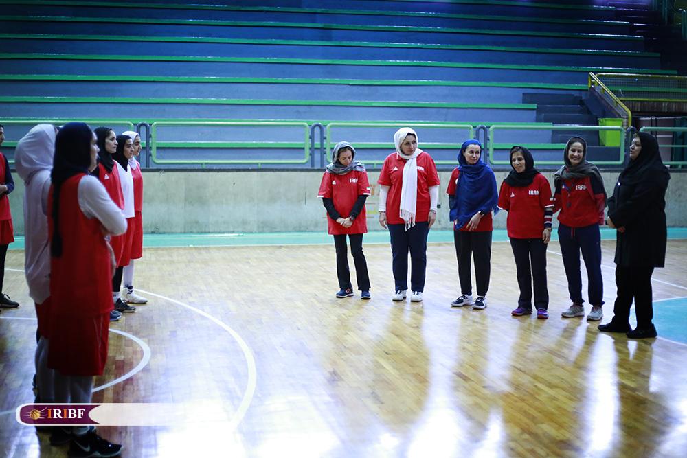 تمرین تیم ملی بسکتبال بانوان 13 تمرین تیم ملی بسکتبال بانوان به روایت تصویر