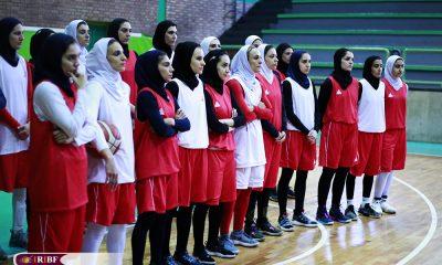 تمرین تیم ملی بسکتبال بانوان 15 400x240 آغاز اردوی تیم ملی بسکتبال بانوان از 11 تیر در بندرانزلی
