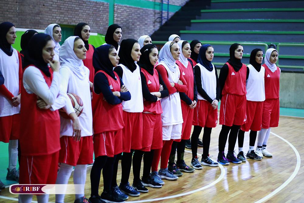تمرین تیم ملی بسکتبال بانوان 15 تمرین تیم ملی بسکتبال بانوان به روایت تصویر