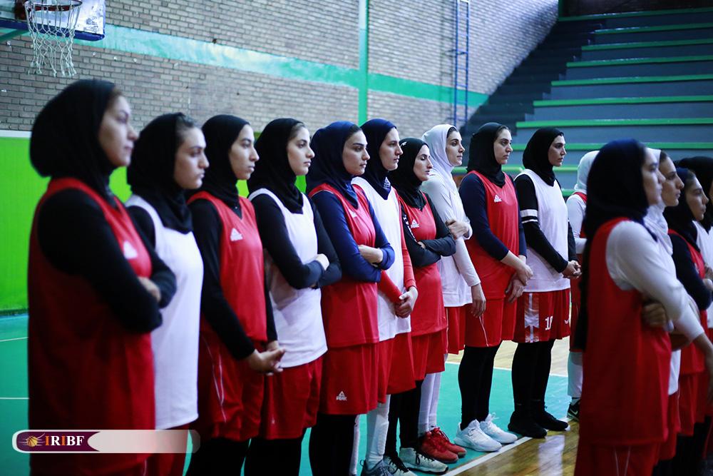 تمرین تیم ملی بسکتبال بانوان 16 تمرین تیم ملی بسکتبال بانوان به روایت تصویر