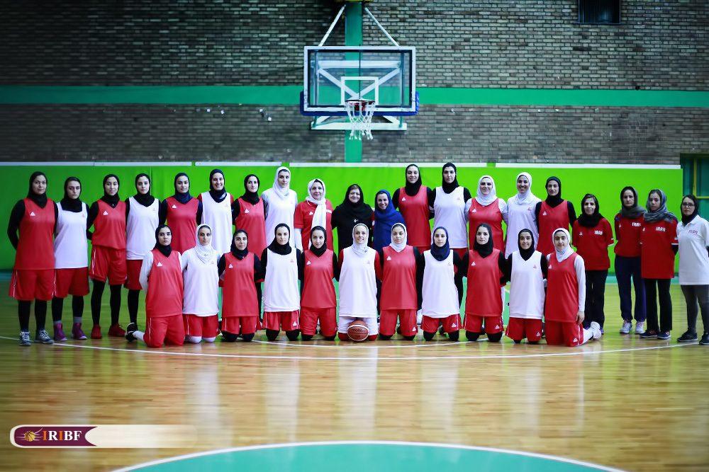 تمرین تیم ملی بسکتبال بانوان 17 1000x667 تمرین تیم ملی بسکتبال بانوان به روایت تصویر